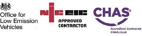 OLEV NICEIC CHAS approved