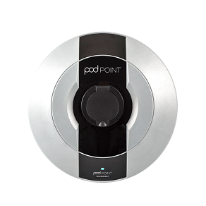 Pod Point Solo EV charge point with universal socket